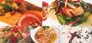 Ta Wan Thai Restaurant dishes