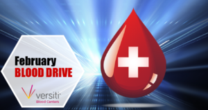 February Blood Drive. Saturday, February 20, 2021. 2:30pm-6pm.